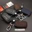 ซองหนังแท้ ใส่กุญแจรีโมท รุ่นด้ายสี หลังพิมพ์โลโก้ All New Toyota Fortuner/Camry 2015-17 Smart Key 4 ปุ่ม thumbnail 2