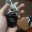 ซองหนังแท้ ใส่กุญแจรีโมทรถยนต์ Toyota Altis,Hilux Vigo,Fortuner,Camry,Innova รุ่นโลโก้เหล็ก thumbnail 9