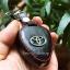 ซองหนังแท้ ใส่กุญแจรีโมทรถยนต์ Toyota Altis,Hilux Vigo,Fortuner,Camry,Innova รุ่นโลโก้เหล็ก thumbnail 7