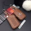 ซองหนังแท้ ใส่กุญแจรีโมทรถยนต์ รุ่นหนังนิ่ม โลโก้เหล็ก LEXUS ES300h Smart Key เล็กซ์ซัส thumbnail 4