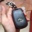 ซองหนังแท้ ใส่กุญแจรีโมทรถยนต์ รุ่นโลโก้เหล็ก Toyota Harrier Smart Key 3 ปุ่ม thumbnail 9