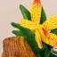 ของพรีเมี่ยม ที่เสียบปากกา กล้วยไม้เหลือง ขนาดกว้าง 12.5 ซม. สูง 10 ซม. thumbnail 3