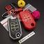 กรอบ-เคส ใส่กุญแจรีโมทรถยนต์ รุ่นเรืองแสง Honda Civic,All New Jazz พับข้าง 3 ปุ่ม thumbnail 6