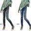 กางเกงผู้หญิงแฟชั่น jeggings ยืด Leggings Tights thumbnail 3