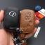ซองหนังแท้ ใส่กุญแจรีโมทรถยนต์ รุ่นหนังนิ่ม โลโก้เหล็ก LEXUS IS250C,250/RX270,350,450h thumbnail 10