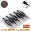 [11RT] ปลายกระบอกพร้อมด้ามจับสำเร็จรูป 25MM แพ็ค20ชิ้น ด้ามจับพร้อมปลายกระบอกเข็มสักพลาสติกแบบใช้แล้วทิ้งเบอร์ 11RT Disposable Plastic Tattoo Grip Tubes (20PC) thumbnail 1