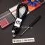 สายห้อยพวงกุญแจ ลายถักสาน โลโก้ HONDA (พร้อมไขขวง) thumbnail 6