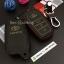 ซองหนังแท้ ใส่กุญแจรีโมทรถยนต์ Toyota Hilux Revo Smat Key 3 ปุ่ม รุ่นด้ายสี thumbnail 8
