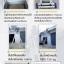 บันไดอลูมิเนียม Sanki (อลูมิเนียมทั้งตัว) รุ่น 3 ท่อน ( Sanki ) 10 ฟุต ทำทรงพาดได้ถึง 6.81 m ทรง A ยืดได้สูงถึง 3.09 m thumbnail 2