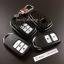 กรอบ-เคส ใส่กุญแจรีโมทรถยนต์ Honda Smart Key 2,3,4 ปุ่ม ลายเคฟล่า thumbnail 3