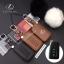 ซองหนังแท้ ใส่กุญแจรีโมทรถยนต์ รุ่นหนังนิ่ม โลโก้เหล็ก LEXUS ES300h Smart Key เล็กซ์ซัส thumbnail 1