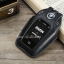 ซองหนังแท้ ใส่กุญแจรีโมทรถยนต์ BMW 7 Series 520d,G30,530i Smart Key รุ่นทัสกรีน thumbnail 3