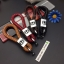 สายห้อยพวงกุญแจ ลายถักสาน โลโก้ HONDA (พร้อมไขขวง) thumbnail 1