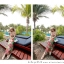ชุดเดรสยาวใส่ไปเที่ยวทะเลสวยๆ โทนสีชมพู เขียว สายเดี่ยว เอวยืด ผ้าชีฟอง สวมใส่สบาย thumbnail 9