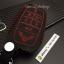 ซองหนังแท้ ใส่กุญแจรีโมท รุ่นด้ายสี Toyota Vellfire,Alphard 2015-17 Smart Key 6 ปุ่ม thumbnail 10