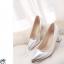 รองเท้าแฟชั้น ส้นเตี้ยหัวแหลม (Per) thumbnail 12