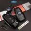 กรอบ-เคส ใส่กุญแจรีโมทรถยนต์ All New Ford Ranger,Everest 2015-17 Key 2-3 ปุ่ม ลายเคฟล่า thumbnail 7