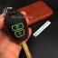 ซองหนังแท้ ใส่กุญแจรีโมทรถยนต์ รุ่นดอกกุญแจด้ายสีเรืองแสง Toyota New Vios,Yaris 2 ปุ่ม thumbnail 6