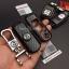 กรอบ-เคส ใส่กุญแจรีโมทรถยนต์ ลายเคฟล่า Mazda 2,3/CX-3,5 Smart Key 2 ปุ่ม thumbnail 6