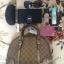 กระเป๋าถือ / ทรงพัด หนังผ้าแบรนด์ GUCCI (Pre) thumbnail 10
