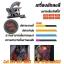 [SET B2] ชุดเครื่องสักคอยล์ Triple เครื่องสักลายครบชุด พร้อมอุปกรณ์สัก หมึกสัก สีสัก เข็มสัก (DragonHawk Pro-3 Tattoo Machine Set) thumbnail 5