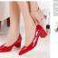 รองเท้าแฟชั้น ส้นเตี้ยหัวแหลม (Per) thumbnail 5