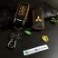 ซองหนังแท้ ใส่กุญแจรีโมทรถยนต์ รุ่นทูโทน Mitsubishi Mirage,Attrage,Triton,Pajero thumbnail 5
