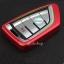 กรอบ-เคส ใส่กุญแจรีโมทรถยนต์ รุ่นไทเทเนียม Bmw X1,X5 Smart Key (พร้อมพวง) thumbnail 10