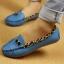 รองเท้าส้นแบบส้นเตี้ยผู้หญิง ขอบลายเสือดาว (Pre) thumbnail 3