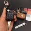 ซองหนังแท้ ใส่กุญแจรีโมทรถยนต์ รุ่นดอกกุญแจ โลโก้เหล็ก Mitsubishi Attrage,Triton แบบใหม่ thumbnail 10
