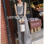 🎀 Lady Ribbon's Made 🎀Lady Lily Smart Casual Belt-Strap Jumpsuit