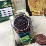 Rolex Cosmograph Daytona White Gold ฺBlack Dial 116509 - Swiss Grade