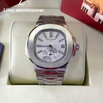 Patek Philippe 5980 Series - Stainless with White Dial