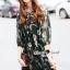 Closet Seoul Secret Say's... Emerald Gemmy Flora Black Dress thumbnail 3