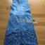 Lady Ribbon Korea Dress Korea LR17300616 &#x1F380 Lady Ribbon's Made &#x1F380 Lady Shannon Embroidered and Laser-Cut Denim Shirt Dress thumbnail 3