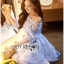 Lady Ribbon Korea Dress ace Silk Dress เดรส thumbnail 5