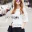 Lady Ribbon Korea Closet dress LR11230616 &#x1F380 Lady Ribbon's Made &#x1F380 Lady Natasha Classic Vintage Lace Blouse with Cotton Ribbons thumbnail 3