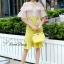 Lady Ribbon Korea Closet SB 09300516 Sweet Bunny Present... Petite Airtex Mini Dress thumbnail 5
