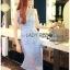 Lady Ribbon Korea Dressเสื้อผ้า LR09010816 &#x1F380 Lady Ribbon's Made &#x1F380 Lady Nara Feminine Elegant Crystal Embroidered Lace Dress เดรสผ้าลูกไม้ตกแต่ง thumbnail 3