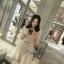 Lady Ribbon Korea Brand SW 03060616 Sweet Bunny Present... God dress Lace Scalloped Shift Dress thumbnail 1
