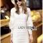 Lady Ribbon's Made &#x1F380 Lady Korea Marion Classy Chic Mixed White Lace Dress Korea thumbnail 7