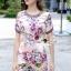 Lady Ribbon Korea Brand SS12300516 Seoul Secret Say's .... Violetta Blossom Softly Color Dress thumbnail 2