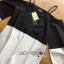 Lady Ribbon Korea Dress Korea Shop LR03390616 &#x1F380 Lady Ribbon's Made &#x1F380 Lady Stella Minimal Monochrome Off-Shoulder Cotton Long Shop thumbnail 4