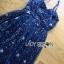 Lady Ribbon Dress LR02120516 &#x1F380 Lady Ribbon's Made &#x1F380 Lady Leslie Super Stars Sequin Embroidered Tulle Maxi Dress thumbnail 7