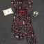 Lady Ribbon Korea Closet LV05070616 &#x1F36DKorea Design By Lavida fashionista colorful printed black chic jumpsuit thumbnail 6