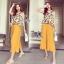 Brand Sevy Classy Simple Look Custard Jumpsuit thumbnail 2