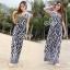 Brand Sevy Zebra Spaghetti Maxi Dress thumbnail 2