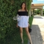 Lady Ribbon Sevy SV06290516 &#x1F389Sevy Off Shoulder Long Sleeve Shirt thumbnail 3