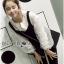 &#x1F380 Lady Ribbon's Made &#x1F380 Lady Rachel Casual Minimal Chic Black and White Blouse set thumbnail 7