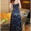 Lady Ribbon Dress LR02120516 &#x1F380 Lady Ribbon's Made &#x1F380 Lady Leslie Super Stars Sequin Embroidered Tulle Maxi Dress thumbnail 5